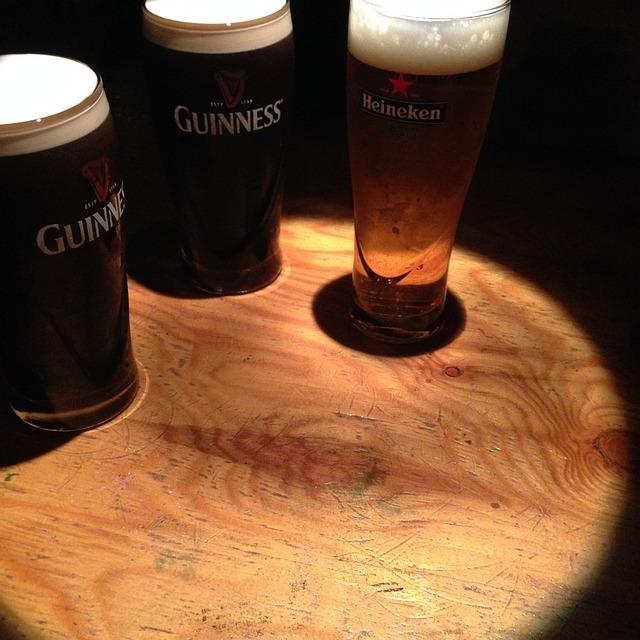 Beer, Cafe, Guinness