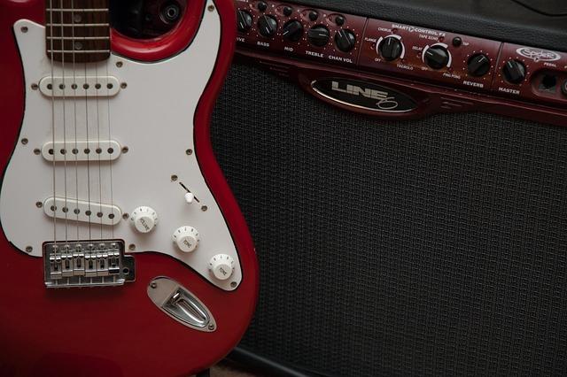 Guitar, Amp, Music