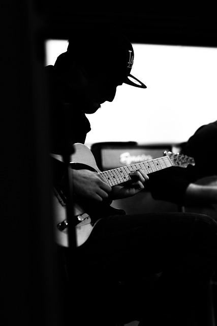 Guitarist, Guitar, Amplifier, Music, Instrument