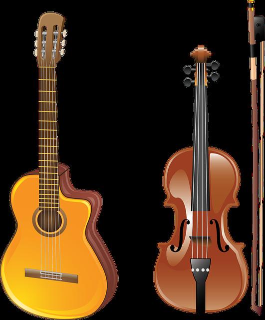 Guitar, Violin, Bow, Musical Instrument, Acoustics