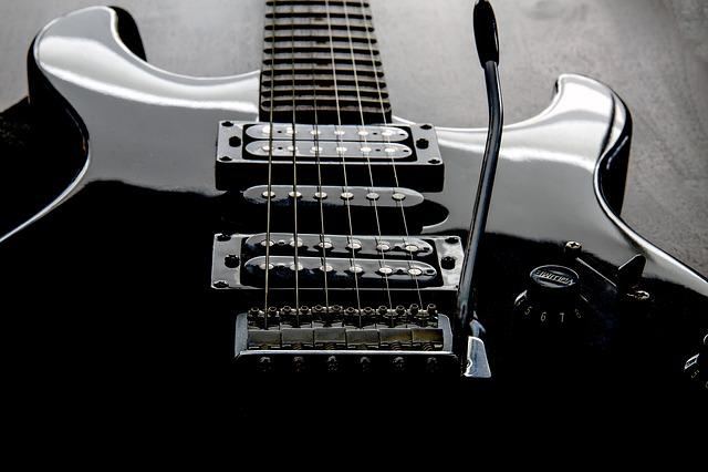 Guitar, Electric Guitar, Strings, Pickup