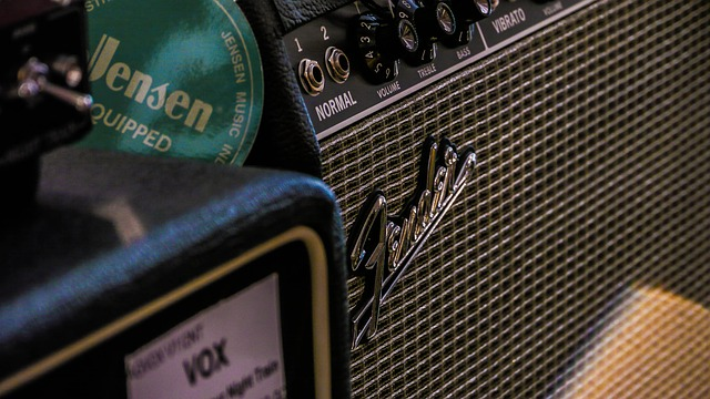 Amp, Guitar, Vox