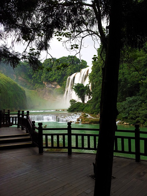 Asia, Guiyang, Huang Guo Shu, Yellow Tree Waterfall