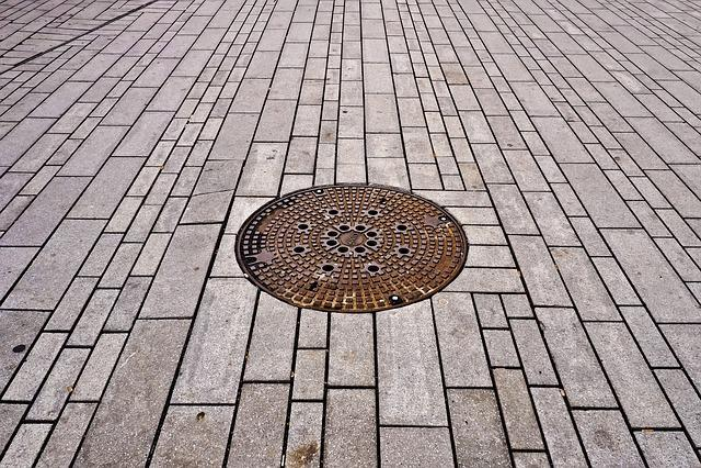 Manhole Covers, Gulli, Gullideckel, Ground, Lid