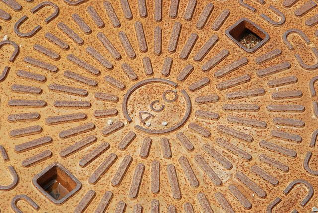 Manhole Cover, Metal, Stainless, Structure, Gulli