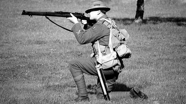 Soldier, Gun, Military, Army, War, Weapon, Camouflage