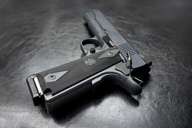 M1911, Pistol, Gun, Firearm, Handgun, Magazine, Defense