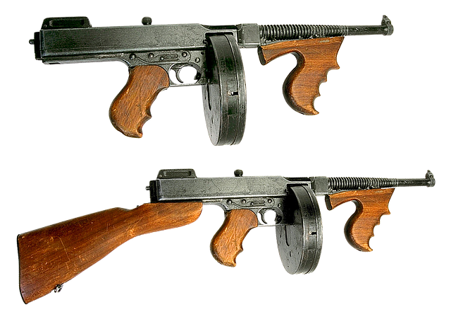 Gun, Firearms, Automatic, Machine Gun
