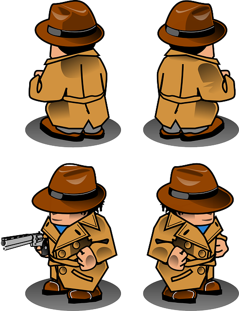 Detective, Gun, Man, Neutralizer, Person, Hat