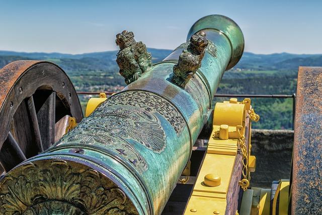 Gun, Historically, Weapon, Fortress, Antique