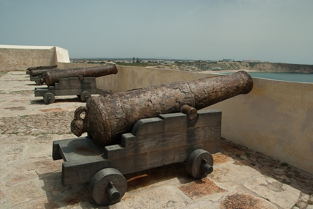 Fortress, Guns, War, Ramparts