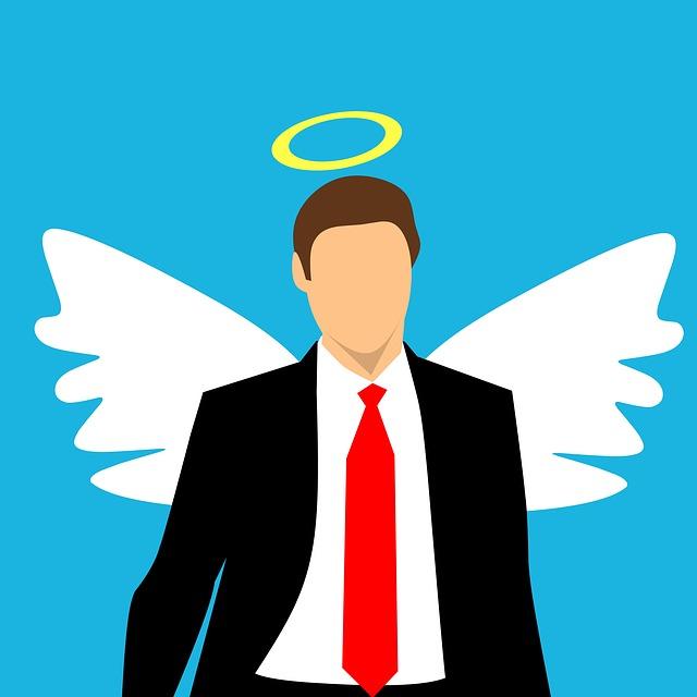 Man, Angel, Halo, Wing, Gut, Male, Hybrids