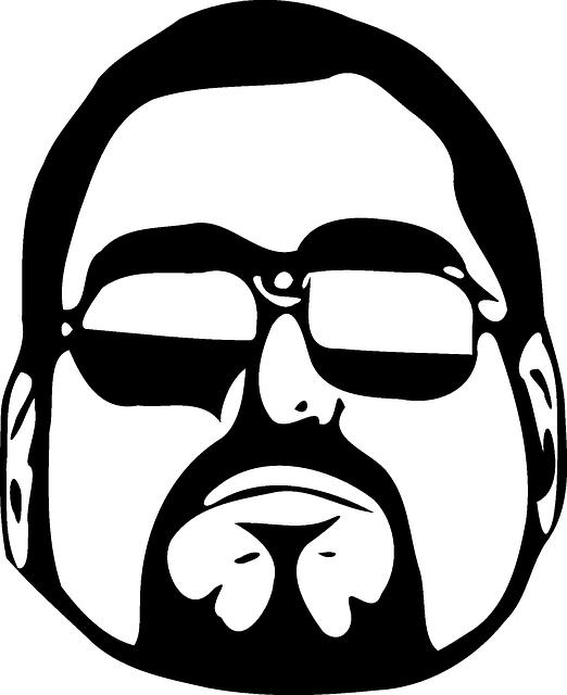 Guy, Cool, Glasses, Sunglasses, Man, Dude, Beard