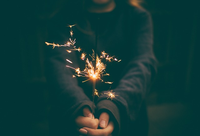 Guy, Man, Male, People, Hands, Hold, Sparklers