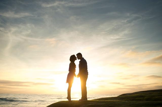 Couple, Man, Woman, Girl, Guy, Love, People, Sea, Ocean