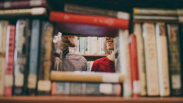 Library, Books, Reading, School, Study, Guy, Man, Girl