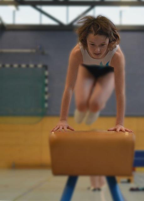 Sport, Gymnastics, Gym, Girl, Team, Hand, Arm, Movement