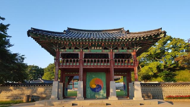 Haemieupseong, Autumn, Hanok, Cultural Property