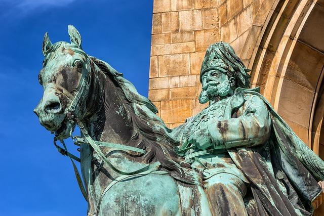 Kaiser Wilhelm, Monument, Hagen, Reiter