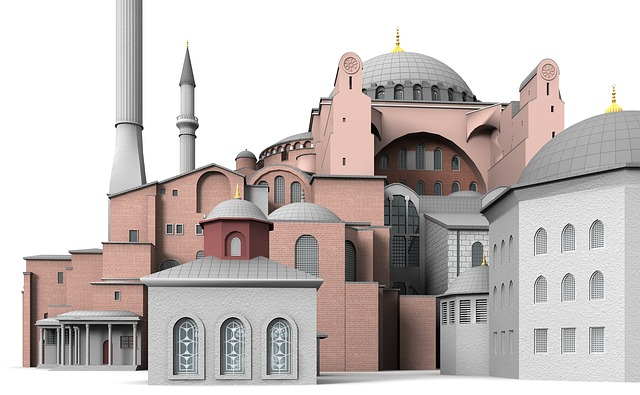 Hagia, Sophia, Istanbul, Building, Church