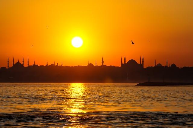Europe, Asia, Turkey, Istanbul, Hagia Sofia, Aya Sofia