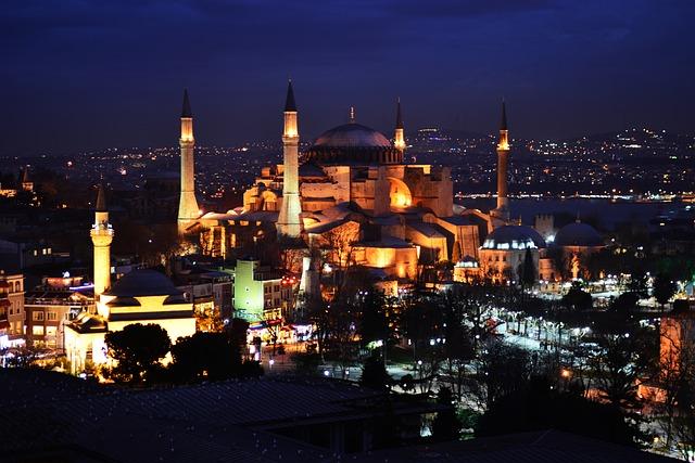 Hagia Sophia, Cami, Night