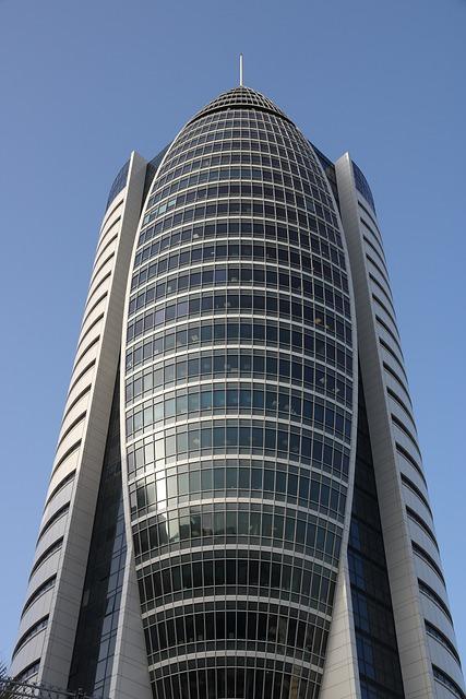 Israel, Haifa, Sail Building, Skyscraper, Architecture