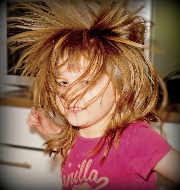 Child, Dance, Hair, Wild, Girl, Human, Nature, Movement