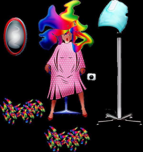 Hair Salon, Funny Hair, Hair Dryer, Haircut, Woman