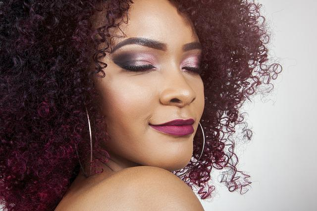 Beauty, Red, Hair, Closeup, Makeup, Hairstyle, Glamour