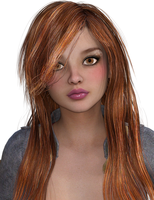 Woman, Hair, Red Hair, Head, Face, Styling, Eyes, Mouth