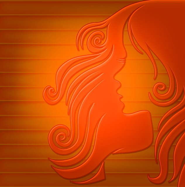 Hair, Woman, Hairstyle, Background, Color, Red, Orange