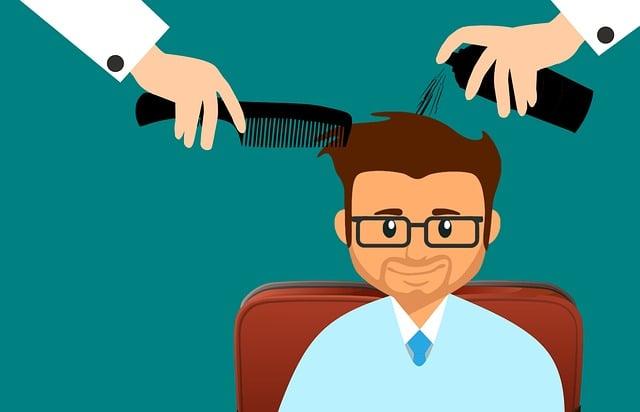 Hair, Man, Salon, Hairdresser, Haircut, Male, Bearded