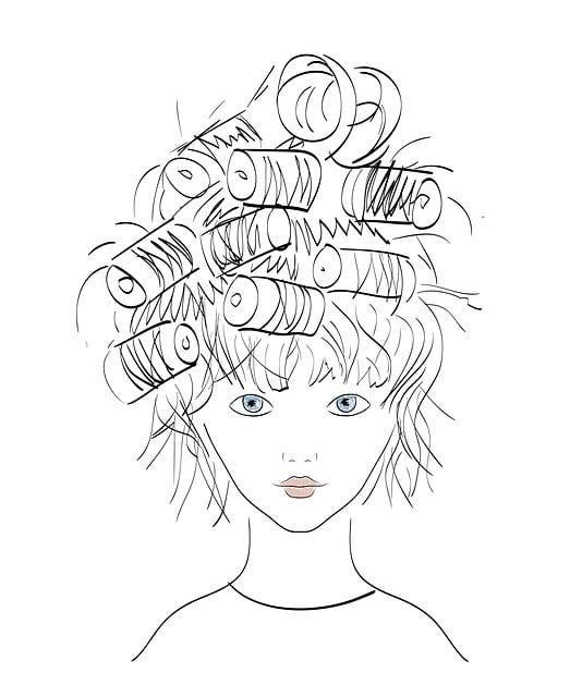 Girl, Hairstyle, Illustration, Fashion, Bella, Beauty