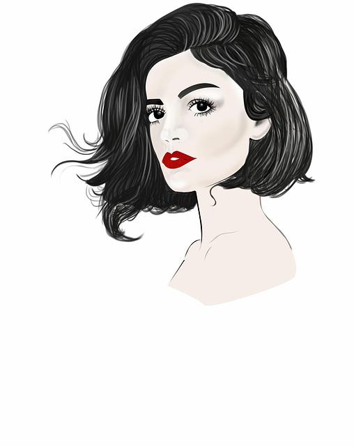 Woman, Fashion, Hair, Girl, Hairstyle