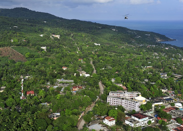 Port-au-prince, Haiti, Landscape, Mountains, Forest