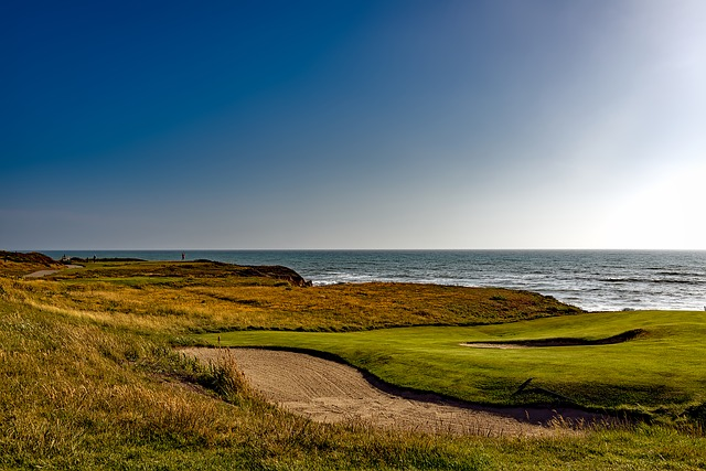 Half Moon Bay, California, Golf Course, Sports, Leisure