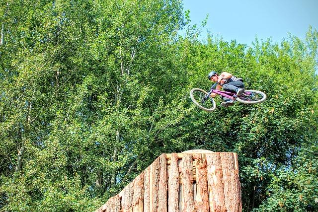 Plunge, Bmx, Wheel, Bike, Fly, Halfpipe, Stunt