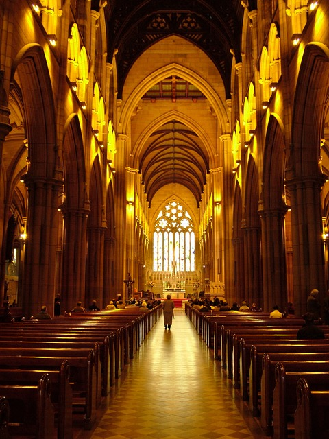 Church, Hall, Architecture, Building, Famous, Interior