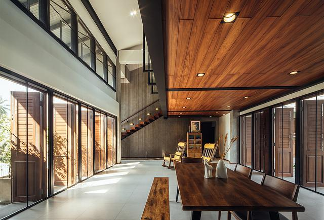 Villa, Hall, Indoor