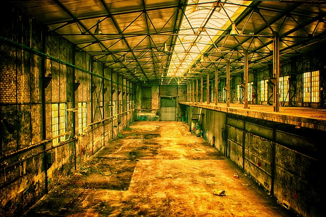 Lost Places, Factory, Lapsed, Building, Pforphoto, Hall