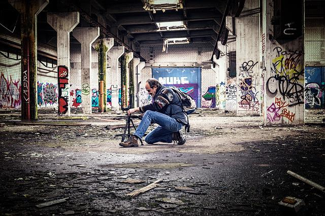 Lost Places, Hall, Leave, Empty, Photographer, Model