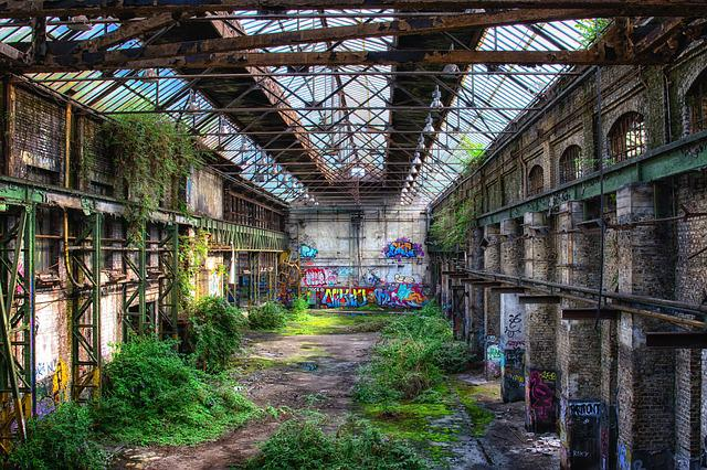 Hall, Atmosphere, Nature, Conquer, Past, Factory