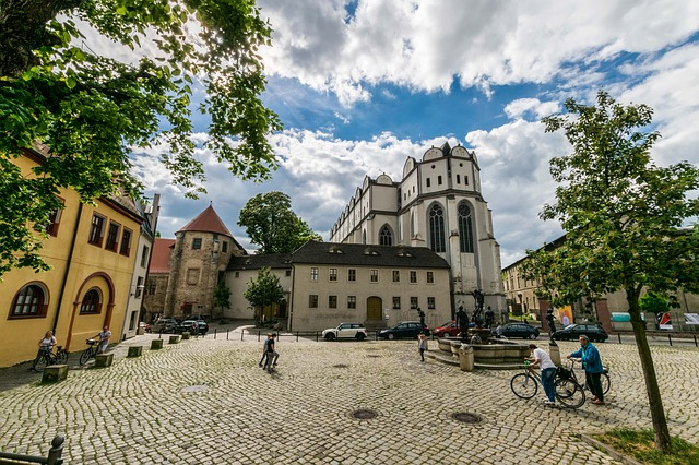 Hall, Halle Germany, Saxony-anhalt, Germany, Old Town
