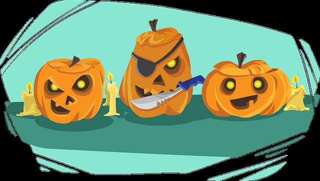 Pumpkin, Halloween, Knife, Holiday, Celebration