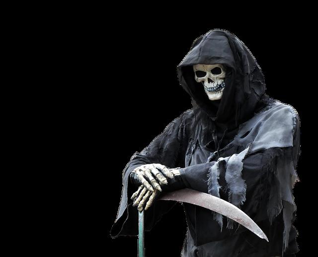 Reaper, Death, Halloween, Spooky, Scary, Horror, Creepy