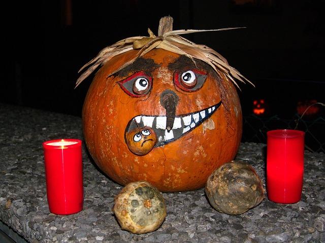 Halloween, Pumpkin, Faces