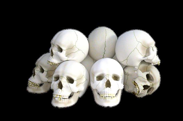 Skulls, Horror, Death, Halloween, Dead, Head, Grave