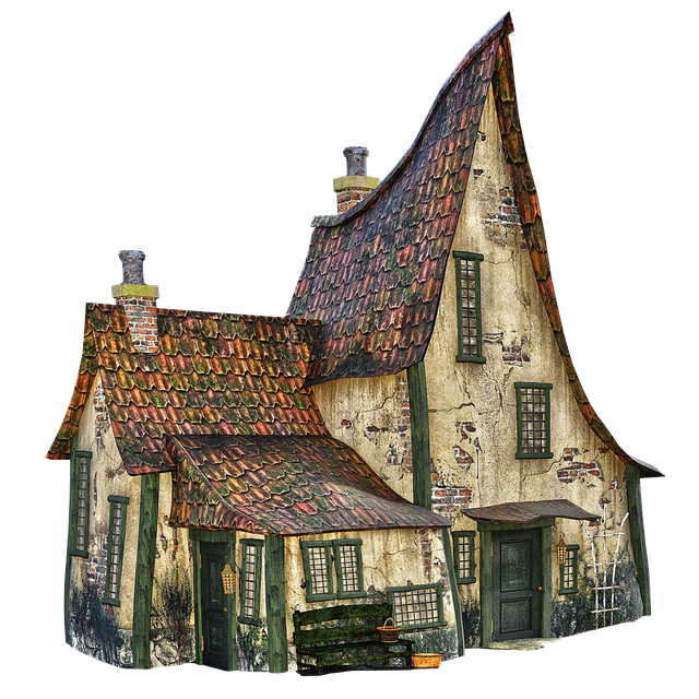 Old House, Witch's House, Halloween, Creepy, Building