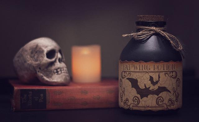 Potion, Poison, Halloween, Scary, Horror, Spooky